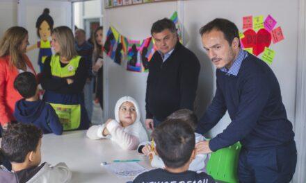 Abella y el ministro de Desarrollo Social inauguraron importantes obras en la Casa de Encuentro de La Josefa