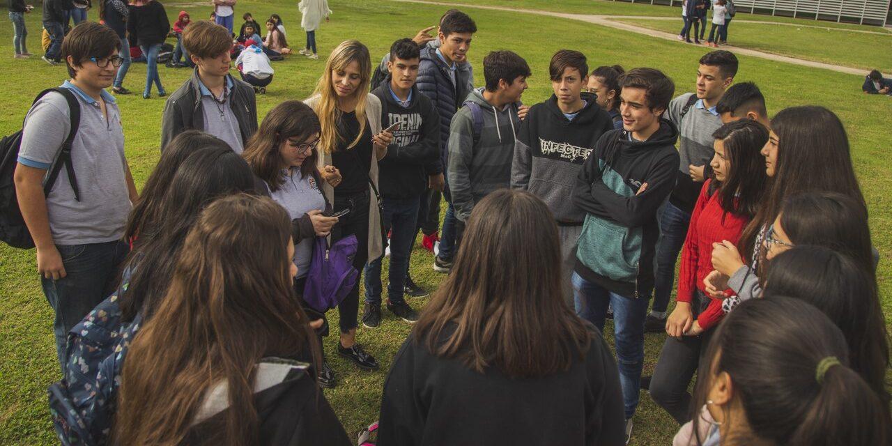 Adolescencia Activa: más de 400 alumnos participaron del primer intercolegial del año