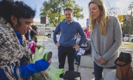 Villa Dálmine: Abella se comprometió a reactivar el tratamiento de la Ordenanza por el estadio