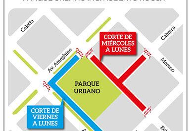 Acercarte: mañana comienzan los cortes de tránsito en la zona