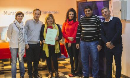 Abella entregó actas de Protección de la Vivienda a 15 familias