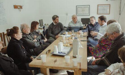 Autoridades del IPS se reunieron con centros de jubilados de la ciudad