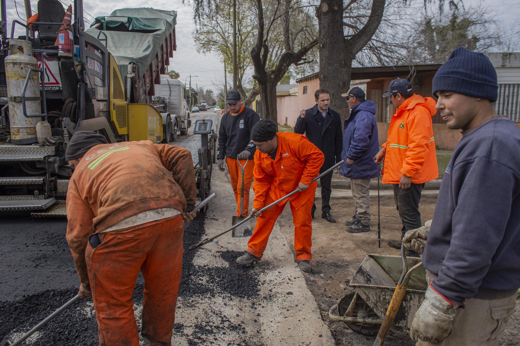 """Abella: """"Este año habrá récord de obras realizadas con fondos municipales"""""""