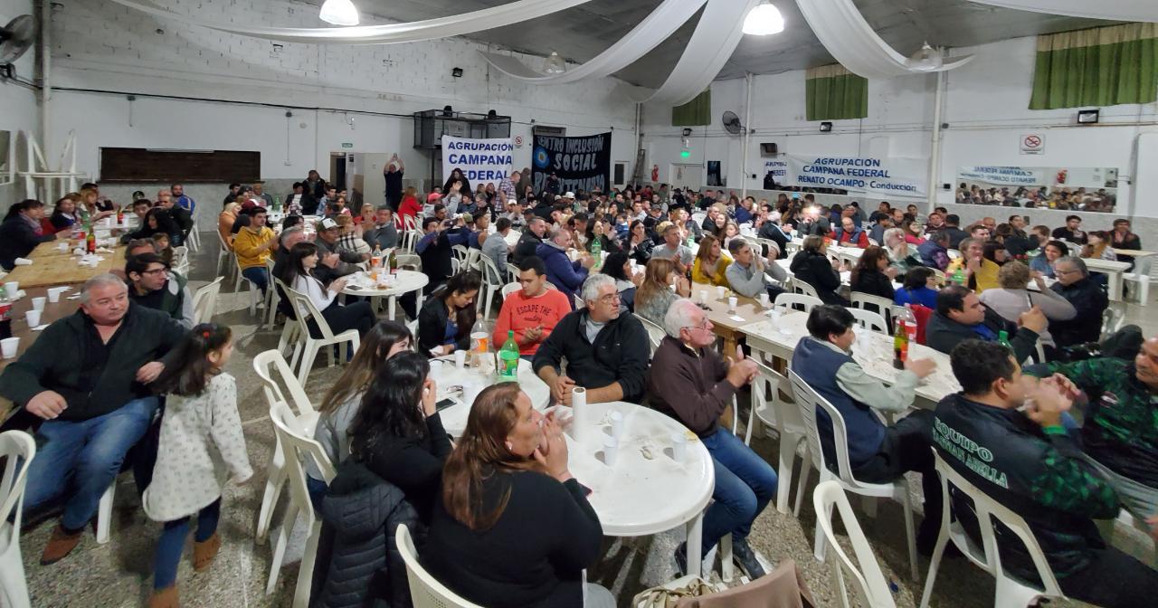 Reunion autoridades Colegio de Magistrados y Funcionarios Zarate-Campana/ Colegio de Abogados Zarate- Campana