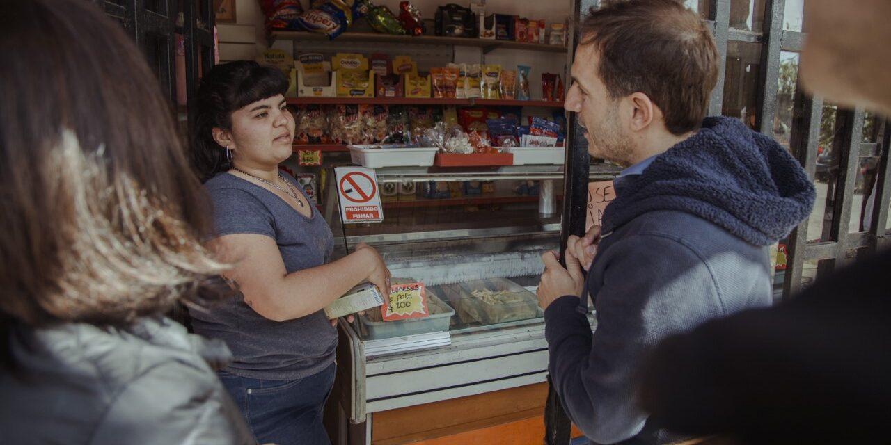 Abella escuchó a vecinos de Del Pino, Sarmiento y Urquiza