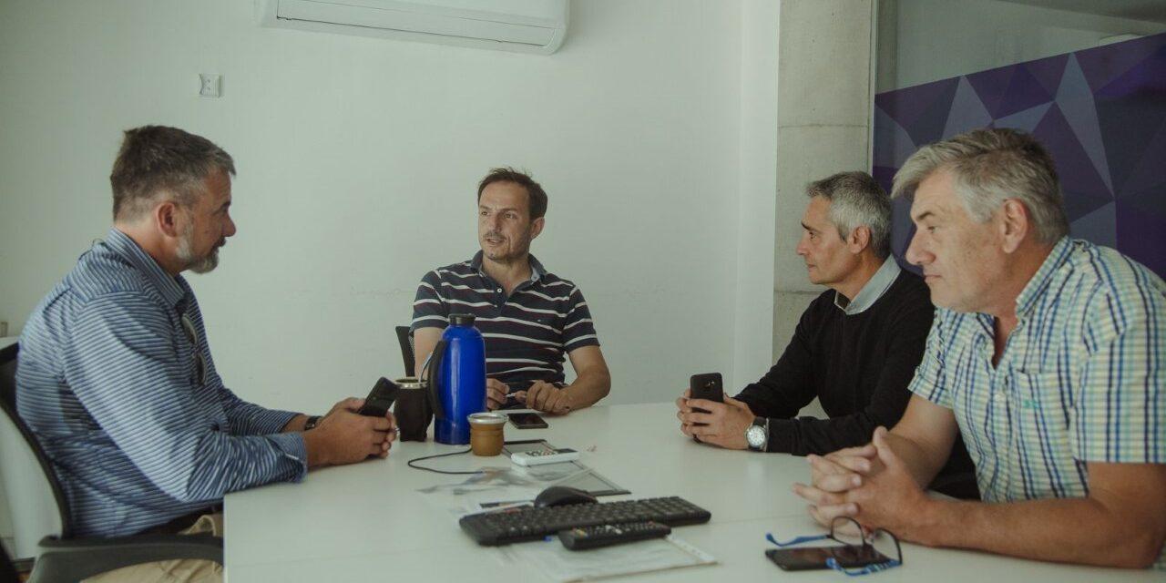Abella se reunió con el nuevo jefe del Departamento Operaciones Antidrogas