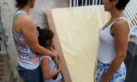 Asisten a familias de extrema vulnerabilidad