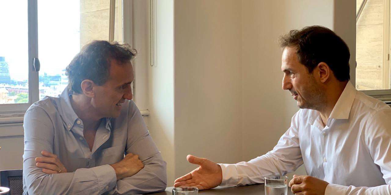 Abella se reunió con el ministro Katopodis para planificar obras para la ciudad