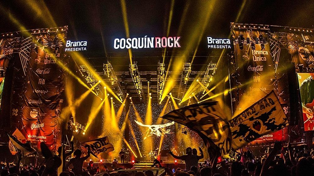 Arrancó el Cosquín Rock 2020