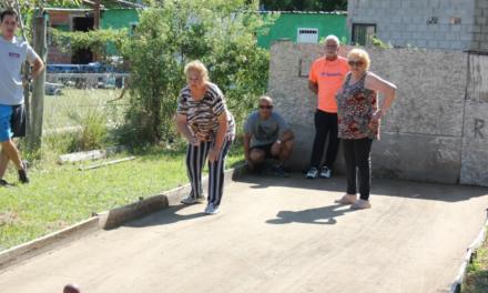 Adultos mayores participaron de un Encuentro Multideportivo
