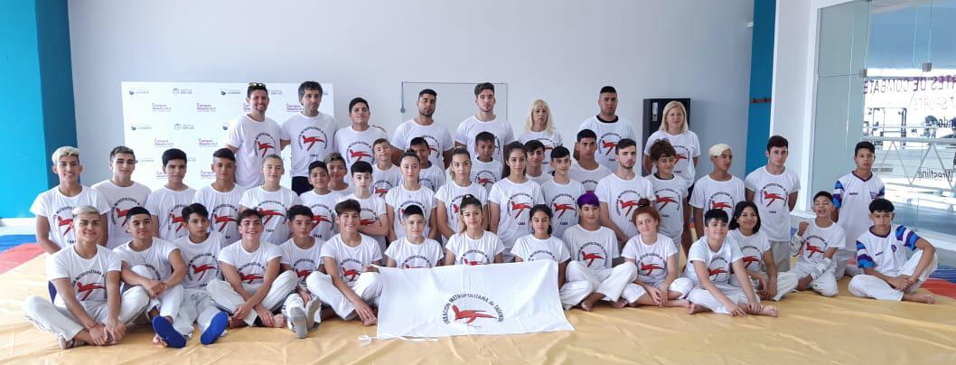 Atletas campanenses entrenaron en el Campus Nacional de Taekwondo WT Olímpico