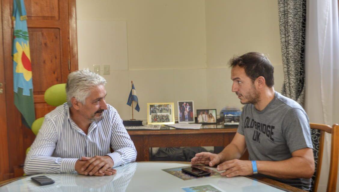 Abella mantuvo una reunión con el Intendente de Carmen de Patagones, José Luis Zara