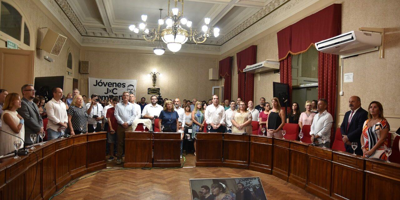 Abella inauguró las sesiones ordinarias y aseguró la continuidad de obras y proyectos para la ciudad