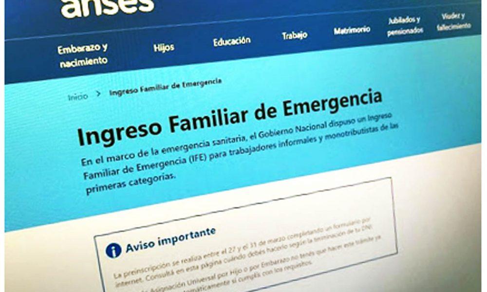 El Gobierno pagará una nueva ronda de Ingreso Familiar de Emergencia (IFE) para paliar los efectos de la pandemia de COVID-19