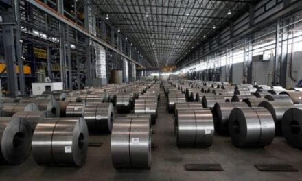 La producción de acero crudo descendio un 74,5% con respecto a la de abril de 2019