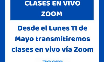 El Club Ciudad de Campana ofrece clases en vivo por Zoom