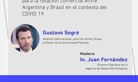 La Agencia de Desarrollo Campana invita a una conferencia online