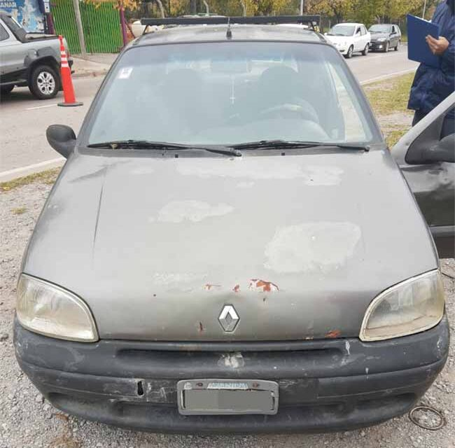 Operativos:  Policía federal secuestró un automóvil durante los controles sobre colectora Norte