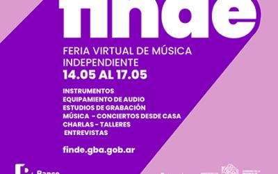 Continúa FINDE, la primera feria virtual de cultura independiente, edición MÚSICA