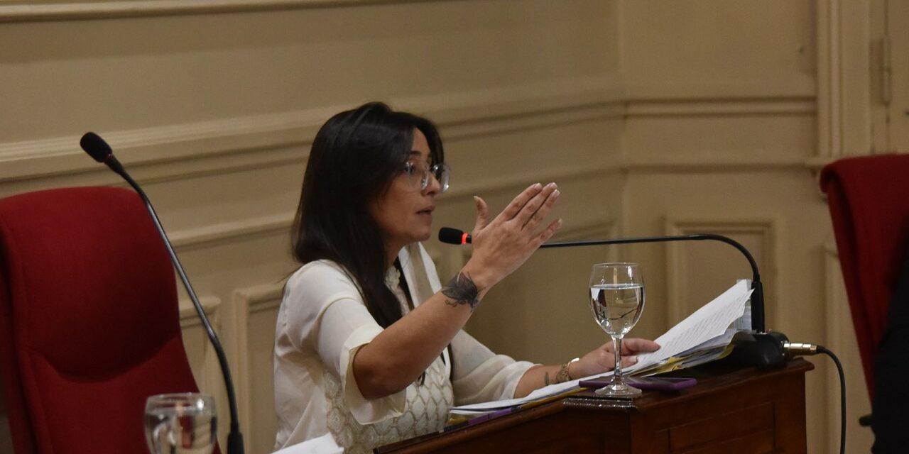 Marina Casaretto usó la banca para cuestionar la ejecución del presupuesto del Concejo Deliberante en el 2019