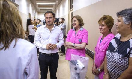 Destacan el trabajo de la Asociación Cooperadora del Hospital en medio de la pandemia