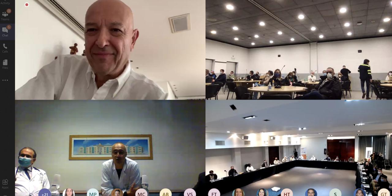 Especialistas de la Red de Hospitales Humanitas de Italia compartieron experiencias sobre COVID-19 con médicos latinoamericanos