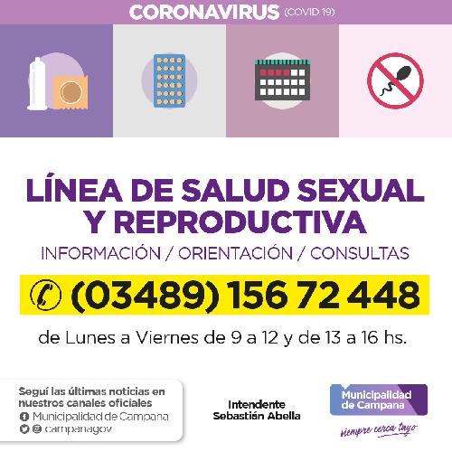 Salud reproductiva: recuerdan que está habilitada una línea telefónica de consultas