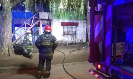 Incendio en el barrio Villanueva dejó graves consecuencias para dos menores