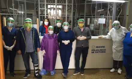 Colaboradores de Tenaris continúan donando protectores faciales a diversas localidades del país