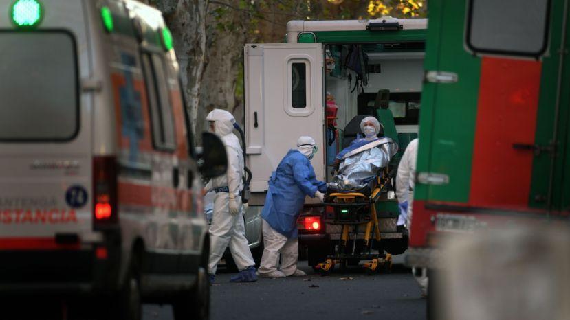 Argentina roza las 80 mil muertes: confirmaron 553 fallecidos por Covid-19 en 24 horas