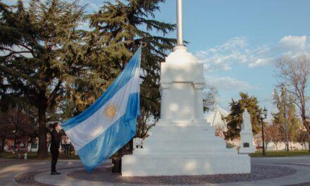 El Intendente encabezó el acto virtual por el Día de la Bandera