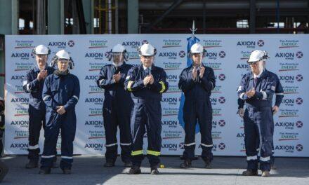 AXION energy puso en marcha la planta con la que  producirá el diesel de mayor calidad del mundo