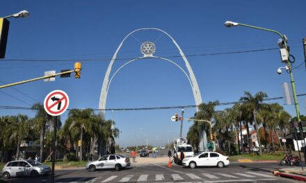 Desde mañana se reabrirá el ingreso a la ciudad por el Arco
