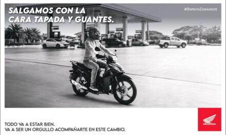 HÁBITOS:  HONDA ESTRENA NUEVA CAMPAÑA PUBLICITARIA  PARA SU DIVISIÓN MOTOCICLETAS