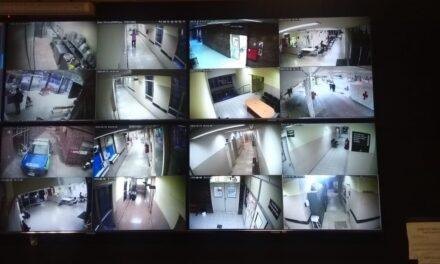 Seguridad: ya funciona la ampliación del sistema de monitoreo del hospital municipal