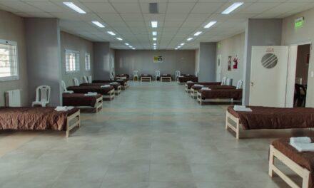 El intendente inauguró un nuevo centro de aislamiento y ya suman 122 camas extrahospitalarias