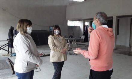 Retoman la construcción de la Escuela Secundaria N°14 del barrio Lubo