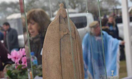 Se cumplen 20 años del hallazgo de la imagen de la Virgen del  Canchillo