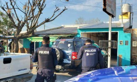 Varios allanamientos en el B° El Destino por los hechos de represalias contra el asesino del jóven de 18 años