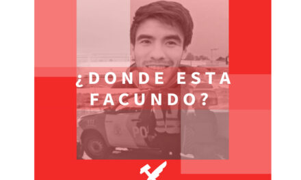 LA JUVENTUD RADICAL DE CAMPANA PIDE POR LA APARICIÓN CON VIDA DE FACUNDO CASTRO.
