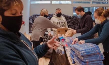 El Municipio coordina la logística y distribución de 24 mil bolsas del Servicio Alimentario Escolar