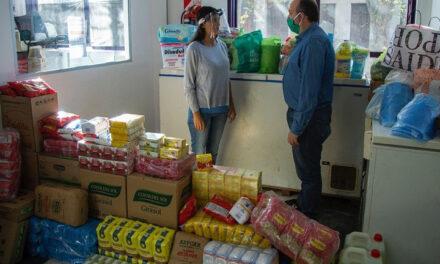 """""""Campana Solidaria"""": se siguen recibiendo alimentos para asistir a familias"""