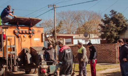 El plan de bacheo sigue en marcha por el barrio San Jacinto