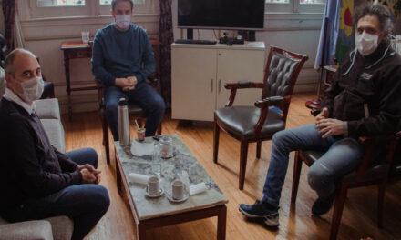 El Intendente se reunió con el nuevo jefe de la Aduana de Campana