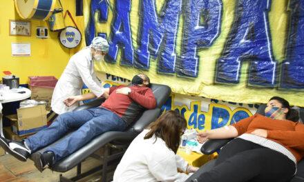 Se realizó una nueva campaña de donación de sangre