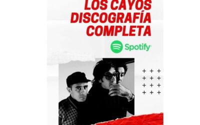 Los Cayos ya tiene toda su discografía disponible en Spotify
