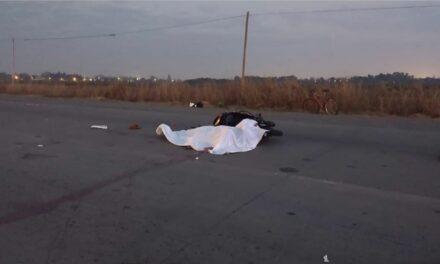Motociclista muere en accidente en el Camino del Progreso y los Trabajadores