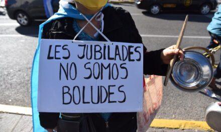 Protesta contra el gobierno nacional en distintas ciudades del país