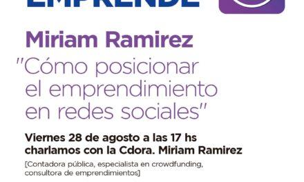 """""""Campana emprende"""" presenta una charla sobre emprendimiento en redes sociales"""