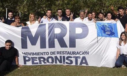 """El Movimiento de Restauración Peronista difundió un comunicado donde expresa su apoyo a los clubes de barrio, y defiende las """"políticas públicas para una comunidad organizada""""."""